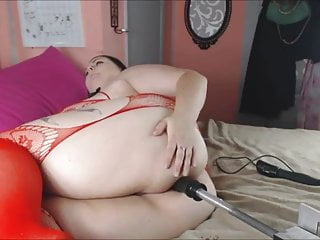 Three girls fucking machine Bbw fucking machine