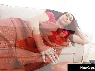 Dark stalker porn - Nympho stalker nina kayy sucks fucks a huge black dick