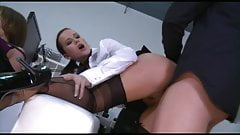 Office group sex with CINDY DOLLAR & KRISTINE CRYSTALIS