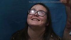 Alice Glasses Cum Shots Bukkake Facial