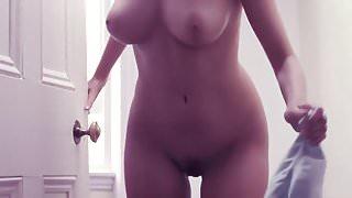 Hayley-Marie Coppin nue dans Cashback