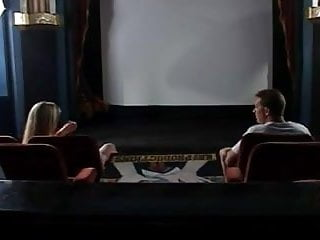 Vicky vette blowjob Vicky vette - hot threesome in a cinema