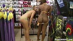 Nikki Stone and Bella - Ass Parade
