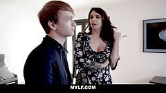 MYLF -  Bodacious MILF Teases and Fucks Her Stepson