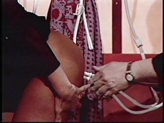 Air hose ass - Brunette gets hoses up her ass