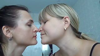 Lesbian Nose to Nose Play 3