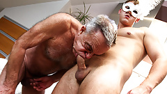 Gunther loves young cock