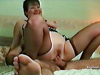 Fucking overweight horney grannues Threesome with a mature overweight wife