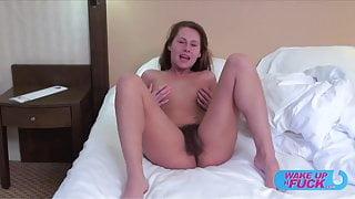 Zuzana wakes up and fucks