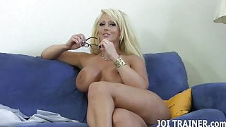 I bet I can make you cum in just a few minutes JOI
