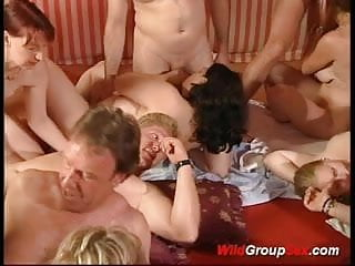 Older people sex videos Wild group sex so many people fucking and sucking cocks