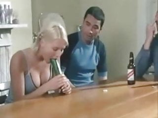 Van outen bottom Denise van outen sucks a cucumber with nice cleavage out