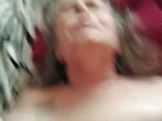 Granny on her back getting fucked PT2