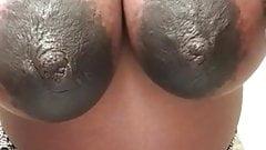 Big Pregnant Areolas