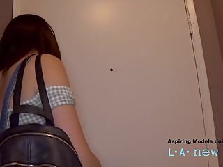 Porn casting tryouts video - Teen model fucked by agent at casting audition tryout