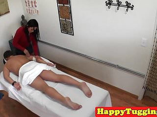 Chicago asian masseuse Asian masseuse jerking and teasing client