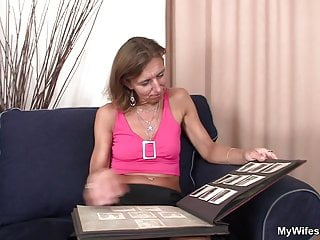 Motherinlaws naked She watches not her motherinlaw riding his cock