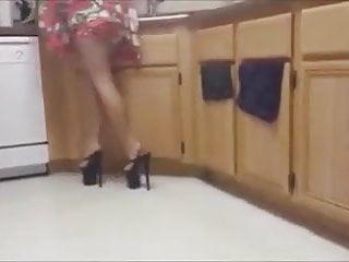 Bondage wach Wach my 8 inch heel
