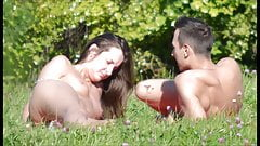 SpyCams Voyeur Public park Flash Tits Girl