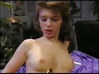 Custom silver buckles vintage From the early 90s: dutch cutie plays with silver dildo