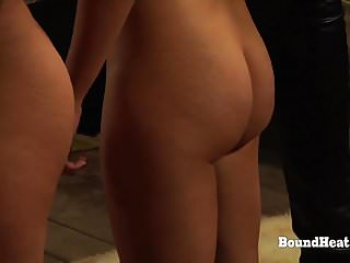 Lesbian submission ass - The submission of sophie: slave receives vibrating strapon