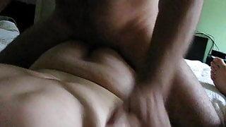 enjoying cock and cumming