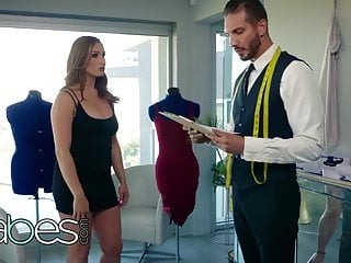 Tailored latex Skylar snow quinton james - tailored to perfection - babes