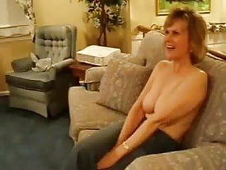 Nylons tits mature clips - Prudish wife persuaded by hubby to make a clip