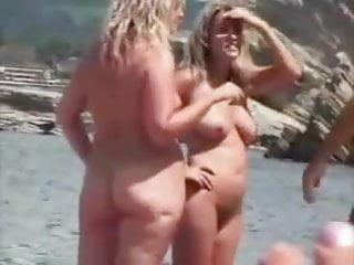 Beach nudist hidden camera voyeurism set 1 Spy gold 1