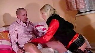hot blonde anal sex