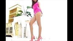 Asian Pantyhose Upskirt Tease 2 Outfits