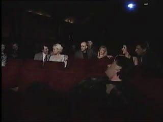 Stripper performing Blondes perform at cinema strak
