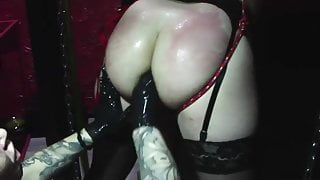 Trans Caged and fisted and punished, only in Germany