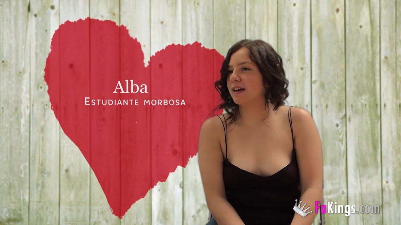 Alba Colegiala Porn big dicked black guy breaks alba's teen pussy