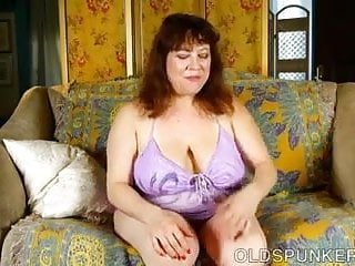Big fucking tit wet - Super cute chubby old spunker fucks her soaking wet pussy