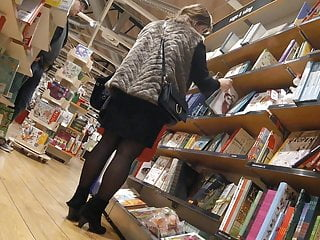 Adult book stores pittsburgh - Candid mature in a book store