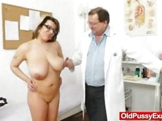 Natural g size tits Huge natural melon size titties at obgyn physician