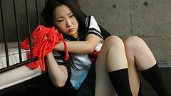 Sweet schoolgirl, Ai Mizushima is moaning from pleasure