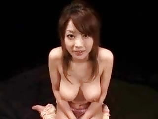 Cum bath cute Cute japanese gets her nice tits bathing with cum