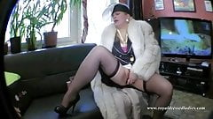 My Wild Royal Dressed Big Boobs Whore Fucks In Fur