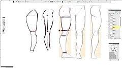 Jak narysować seksowne kobiece nogi!
