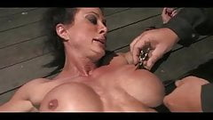 Powerful milf roped and hogtied (endless orgasms)