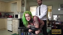 PASCALSSUBSLUTS - Inked Vixen Phoenix Madina Ass Dominated
