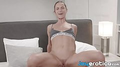 Slim wife wants hubbys thick cock deep inside of her pussy