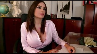 Brunette with big tits gets fucked hard