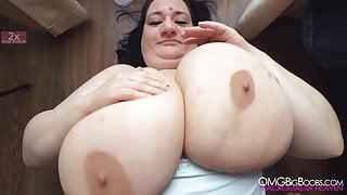 sunniva lind huge 44O tits
