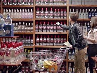 Vodka tonic porn Alison brie - smirnoff vodka commercial, april 2014