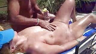 Nude Massage Outdoors
