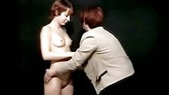 Old & young lesbian amateur performance