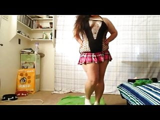 Horny latina nurse with dildo Super horny fat bbw latina loves masturbating with dildo